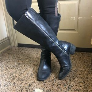 Born Fannar Knee High Leatger Boots